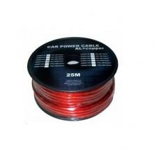 Cablu putere CU-AL 4GA (10MM/21.15MM2) roșu