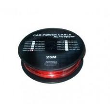 Cablu putere CU-AL 12GA (4.5MM/3.31MM2) roșu