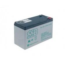 Baterie reîncãrcabilã: plumb-acid 12V/7,2Ah
