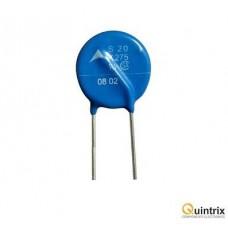 Varistor oxid de metal 275VAC; 350VDC Ø22.5mm