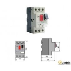Motor protector-montaj pe sina DIN-DZS12-M10(MF0003-08140)