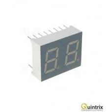 Afisaj LED dublu cu 7 segmente 10mm/rosie/anod