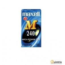 Caseta VHS 240 min Maxell
