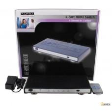 Comutator HDMI 4porturi cu telecomanda
