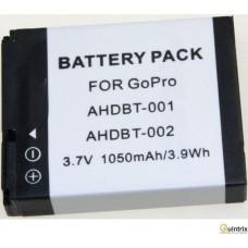 AHDBT-001/AHDBT-002 3,7V,1,05Ah,Li-Ion, Acumulator camera video